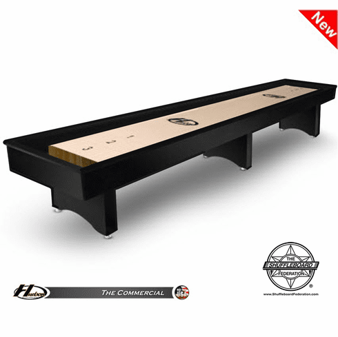 18' Hudson Commercial Shuffleboard Table