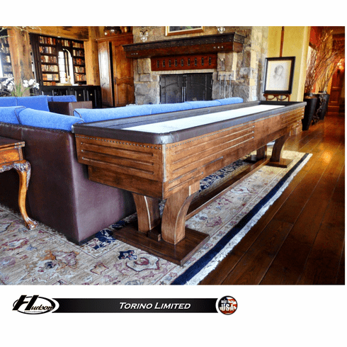 18' Hudson Torino Limited Shuffleboard Table