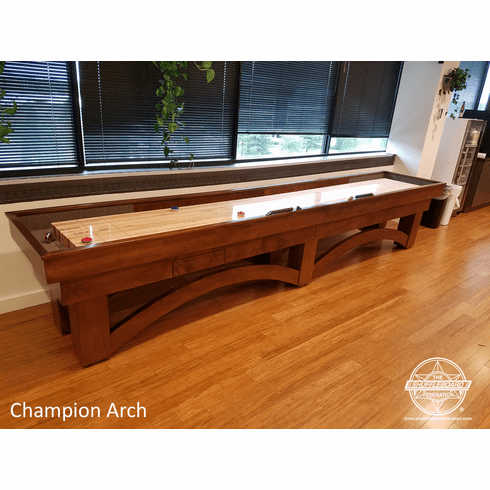 20' Champion Arch Shuffleboard Table