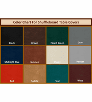 22' Shuffleboard Table Covers
