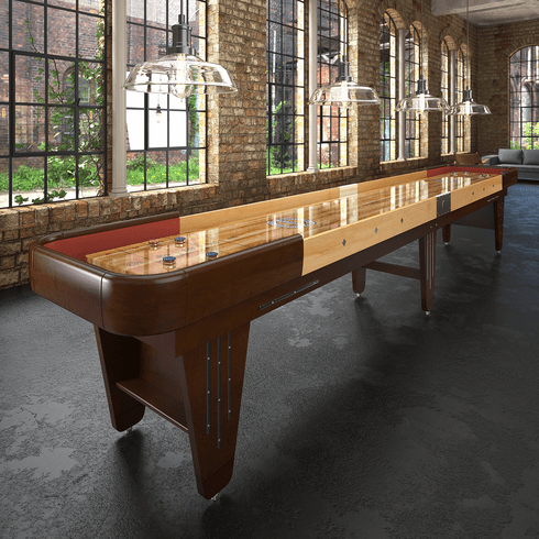 9' Champion Vintage Charleston Shuffleboard Table