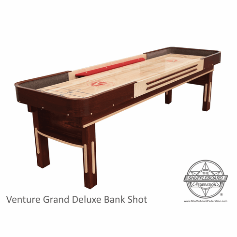 9' Grand Deluxe Cushion Shuffleboard Table