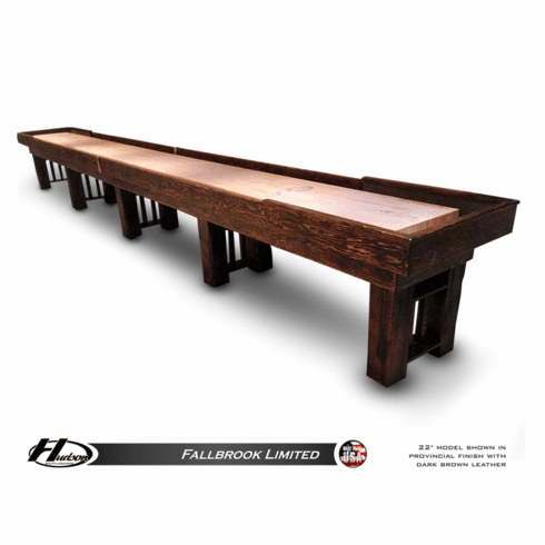9' Hudson Fallbrook Limited Shuffleboard Table