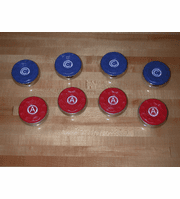 American Shuffleboard Pucks - Medium Size