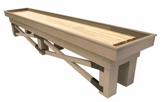 Champion Rustic Shuffleboard Table