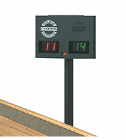 Champion Triangle Shuffleboard Table Scoreboard