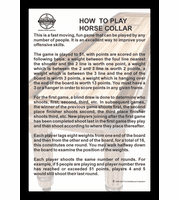 "How To Play Horse Collar 12"" x 18"" Framed Print"