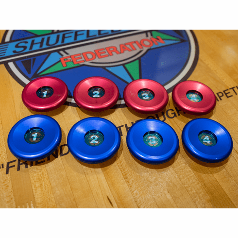 Pro Series Aluminum Weight Caps: Standard 20G or 25G