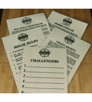 Promotional/Instructional Materials, League & Tournament Supplies