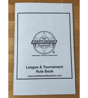 Shuffleboard Rule Book