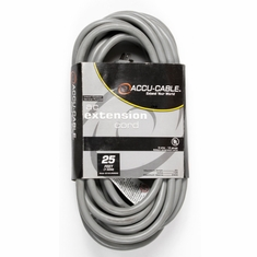 Accu-Cable AC POWER EXTENSIONS GREY CABLE