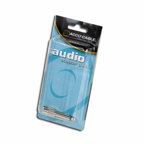 """ACCU-CABLE ACQMRCAF MALE 1/4 TO FEMALE RCA ADAPTE"""""""