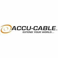 ACCU-CABLE CAT350 50' data cable, cabinet to cabinet, horizontal and vertical