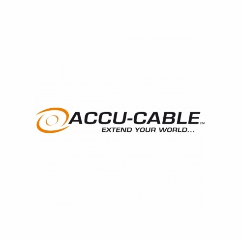 ACCU-CABLE ECAC8 8' Edison to bare end SJTW