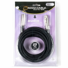 ACCU-CABLE XL-25 XLR Microphone Cable