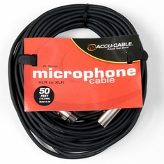 ACCU-CABLE XL-50 XLR Microphone Cable