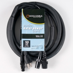 Accu-Cable XLR/AC COMBO CABLES