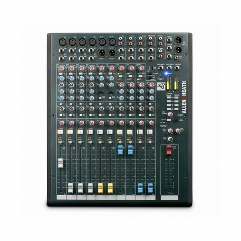 ALLEN & HEATH 14 channel broadcast console with dual Telco inputs, USB I/0 and 4 stereo inputs with logic start.