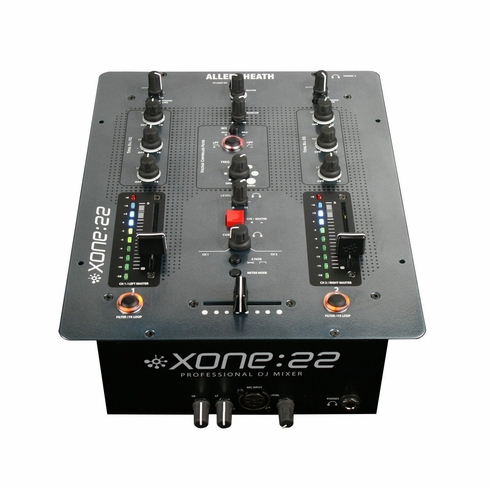 ALLEN & HEATH Xone-22 effortlessly raises the bar on entry-level mixer design, offering top quality audio and a professional feature set usually only found in the booth of a top-rated club, all at a stunningly affordable price.
