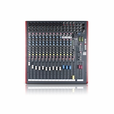 ALLEN & HEATH ZED-16FX 10 Mono Mic/Line + Stereo, USB I/O 4 Aux Sends 100mm Pro Taper Faders. 24Bit Onboard Effects