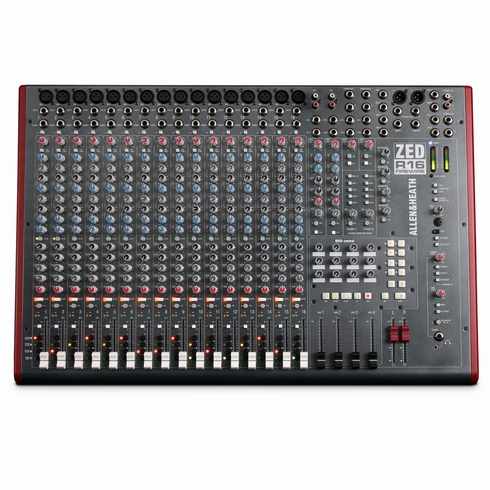 ALLEN & HEATH ZED-436 - 16 channel recording console with Firewire and ADAT I/O Includes SONAR LE recording software.