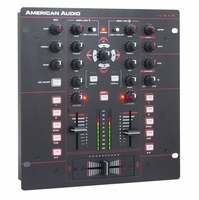 """AMERICAN AUDIO MXR10 MXR926 10"""" 2-Channel (2 phono/2 Line/2 USB)1 Mic, Headphone output, 3 Band EQ and Filter per channel, 2 Band EQ on mic. Full MIDI Control. Complete Browser and Transport Controls. XLR Outputs"""