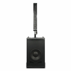 AMERICAN AUDIO STK-106W Active Speaker System with Stereo Bluetooth and mixer.