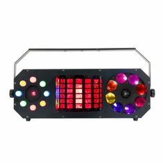 AMERICAN DJ Boom Box FX2 4 FX in 1: Gobo Effect, Moonflower Effect, Strobe/Chase and green & red laser effect