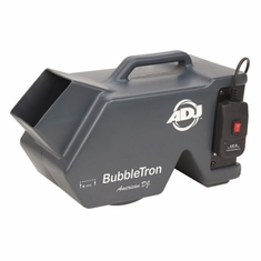 AMERICAN DJ BUBBLE TRON High powered bubble machine which produces massive bubble output.  Heavy duty modled plastic.