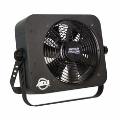AMERICAN DJ ENTOUR CYCLONE Mobile DMX fan machine, fan speed adjustmnet, PowerCon in & out.