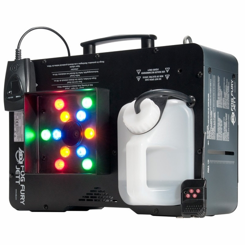 AMERICAN DJ FOG FURY JETT Fog Machine that mixes color into the fog