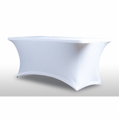AMERICAN DJ HD Table Scrim White 6FT table Scrim. 5 cable pass thru's. Includes Bag