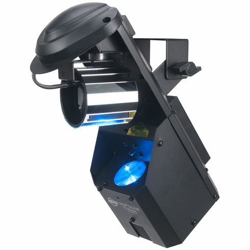 AMERICAN DJ INNO POCKET FUSION Compact high powered 12 watt LED barreled mirrored scanner and beam effect