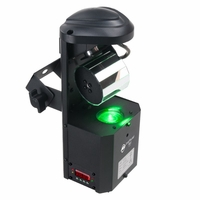 AMERICAN DJ INNO POCKET ROLL 12-Watt LED DMX Barrel Mirrored Scanner
