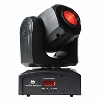 AMERICAN DJ INNO POCKET SPOT Moving Head with a bright white 12W LED source