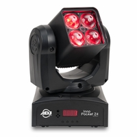 AMERICAN DJ INNO POCKET Z4 Similar to our Inno Pocket Wash but now with Zoom feature, 10 to 60 degree beam angle.