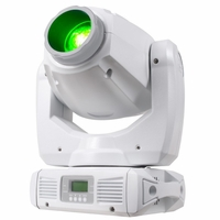 AMERICAN DJ INNO SPOT PRO PEARL Intelligent Moving Head with a bright white 80W LED source with white casing