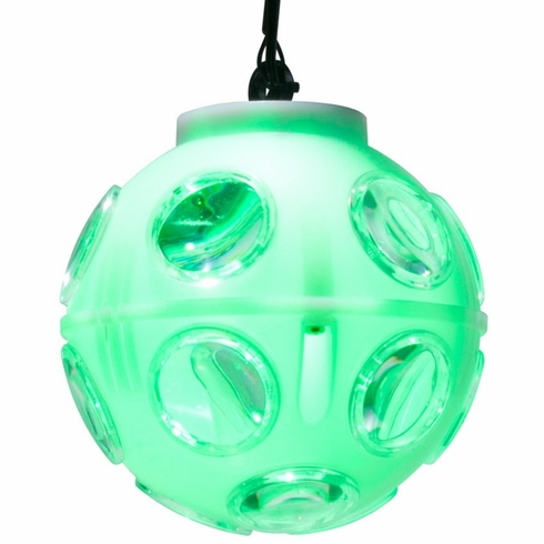 AMERICAN DJ JELLY GLOBE Slow rotating ball that produces 2-FX-IN-1