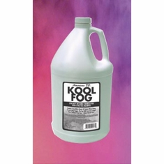AMERICAN DJ KOOL FOG New special formulated Kool Fog. Designed for low-lying fog machines.