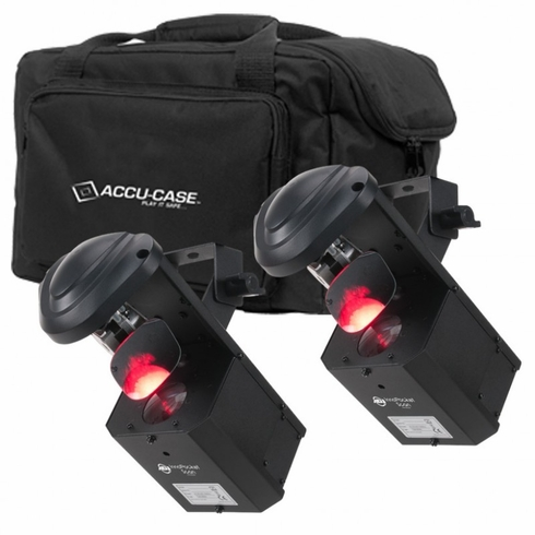 AMERICAN DJ POCKET SCAN PAK 2 X Inno Pocket Scan, 1 x F4 Par Bag
