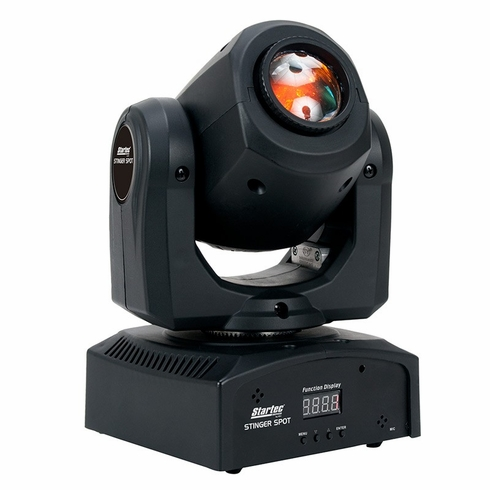AMERICAN DJ Stinger Spot High output mini Moving Head with a bright white 10W LED source