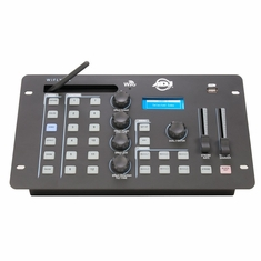 AMERICAN DJ WIFLY NE1 BATTERY Similar to our popular Wifly NE1 but now features BATTERY POWERED that will last up to 10 hours when fully charged. Advanced DMX lighting controller with easy to use generator and full function control up to 12 fixtures
