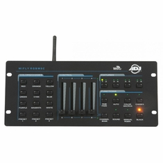 AMERICAN DJ WIFLY RGBW8C Control up to 8 individual fixtures. DMX control with WiFly transceiver
