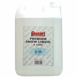 ANTARI SL-5A Dry / Quick Dissapating Snow Liquid for Snow Machines Only (5 Liter Container)