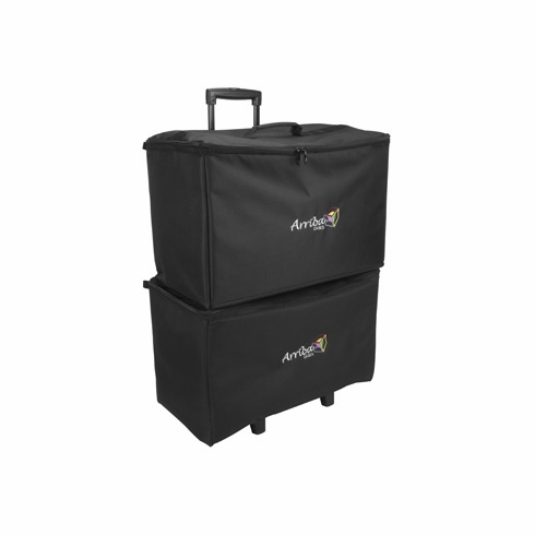 ARRIBA-ACR22 - Multi-purpose stackable rolling case, Bottom rolling case with wheels (ARRIBA-ATP19)