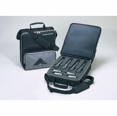 AUDIO-TECHNICA AEW-TB44 Artist Elite transmitter bag holds four handheld and four UniPak transmitters
