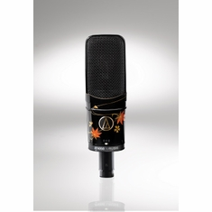 AUDIO-TECHNICA AT4050URUSHI 50th Anniversary Limited Edition; Side-address multi-pattern condenser microphone with traditional Japanese urushi lacquer finish