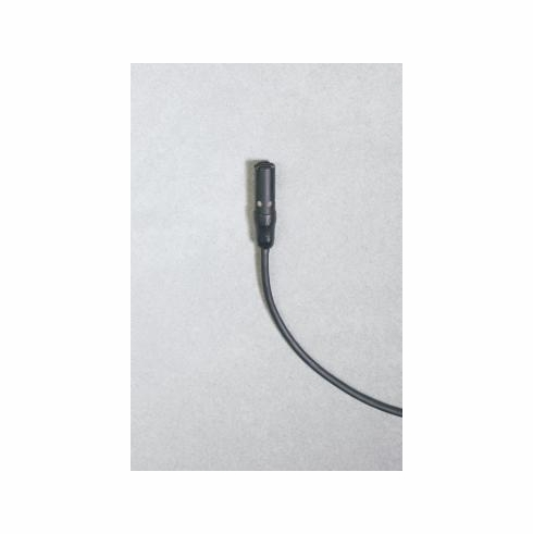 "AUDIO-TECHNICA AT898CW Subminiature cardioid condenser lavalier microphone with 55"" cable terminated with locking 4-pin HRS-type connector for Audio-Technica wireless systems using UniPaktransmitters"