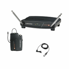 AUDIO-TECHNICA ATW-801/L-T2 System 8 Wireless System includes: ATW-R800 receiver and ATW-T801 UniPak transmitter with lavalier microphone,169.505 MHz