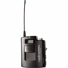 AUDIO-TECHNICA ATW-T1801D 1800 Series UniPak body-pack transmitter, 655.500 - 680.375 MHz (TV 44-49)